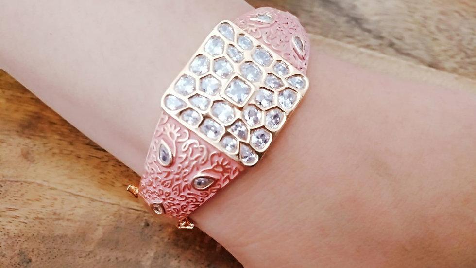 Kundan stone studded ,polki stones studded Bracelet,Kada