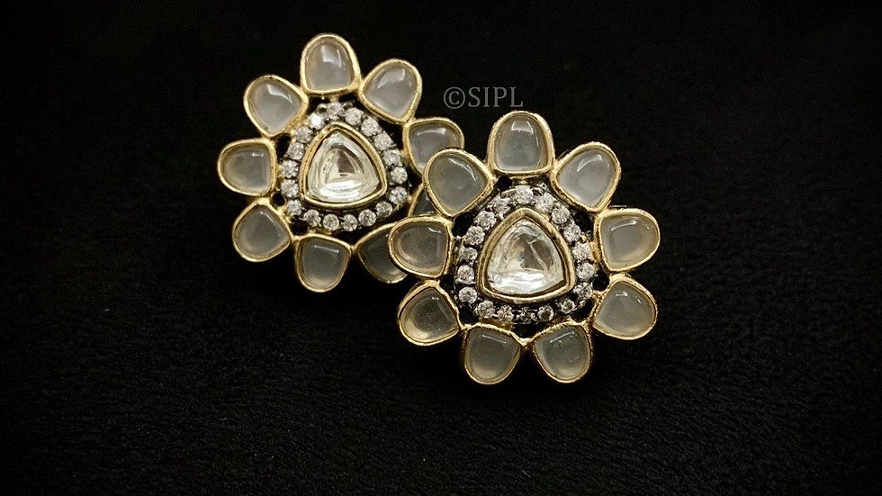 Amazing High Quality Uncut Kundan Studs