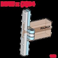 RAJACK Dutch Door