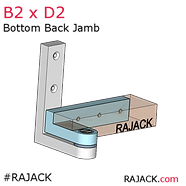 RAJACK B2xD2 Pivot