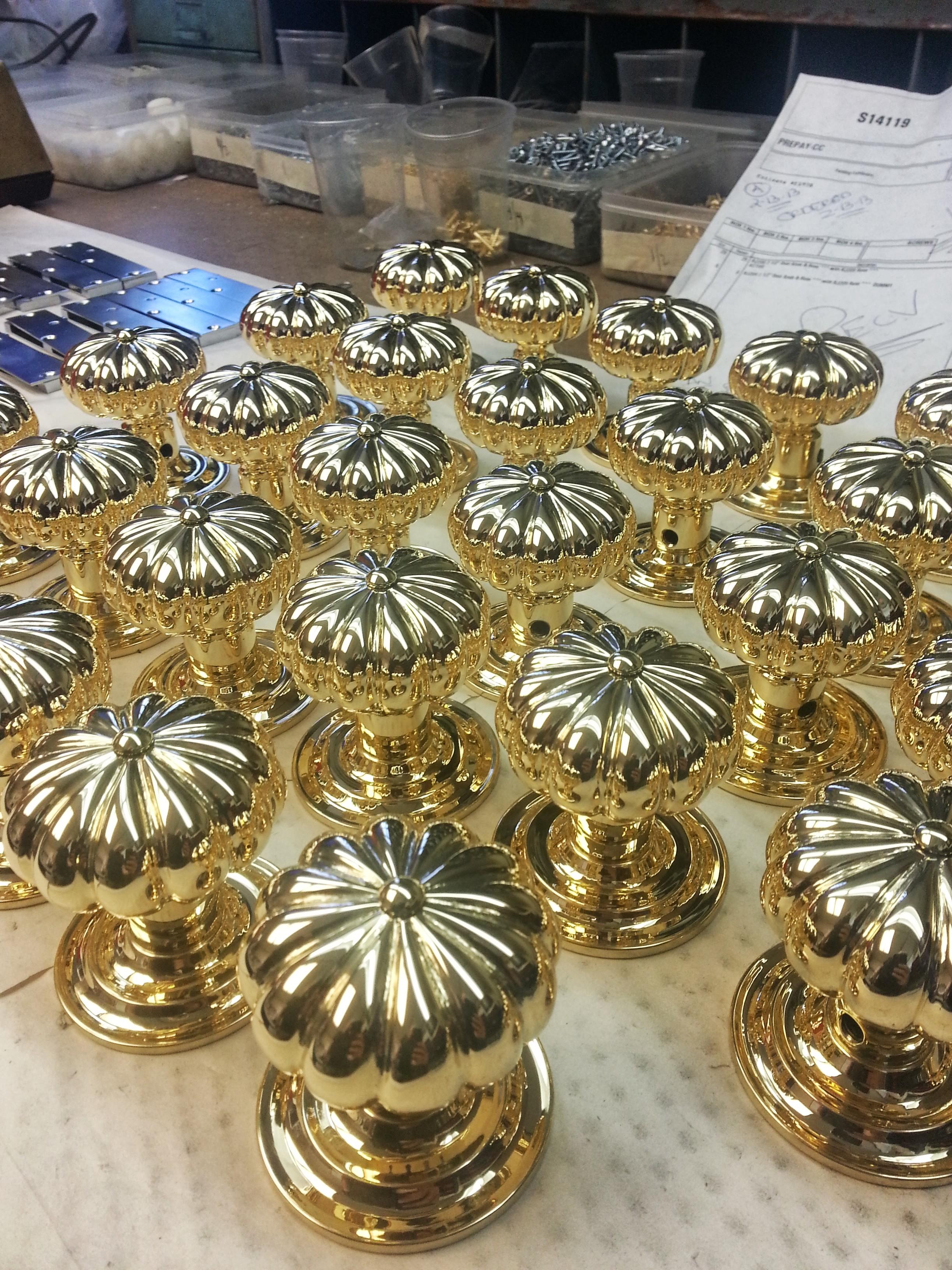 US3 Polish Brass