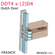 RAJACK Dutch Door