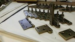 US5 Antq Blacken Brass