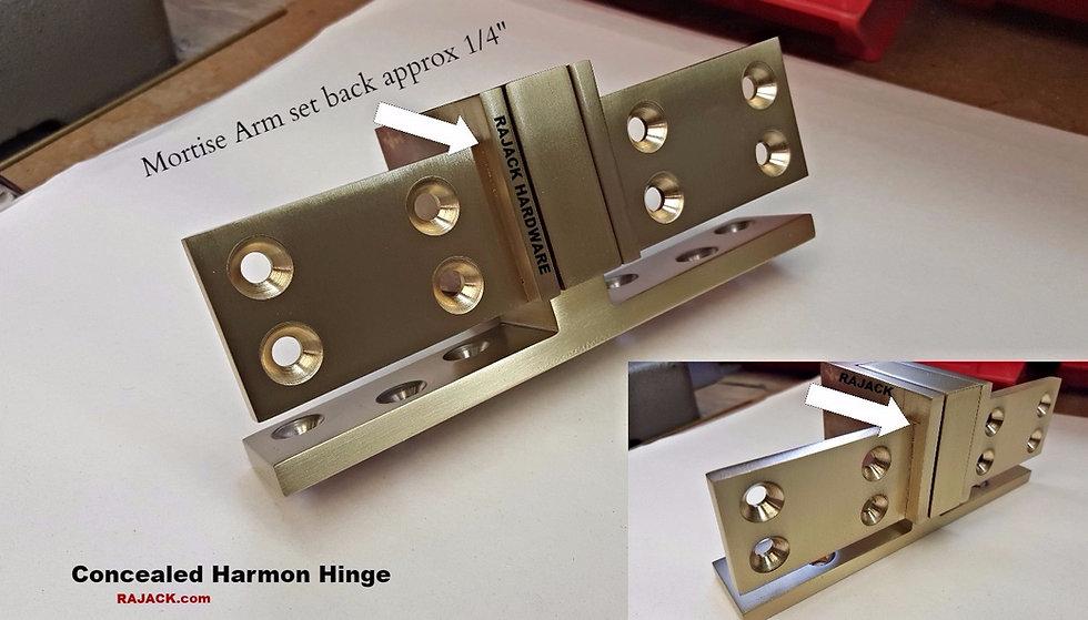 Concealed Harmon Hinge