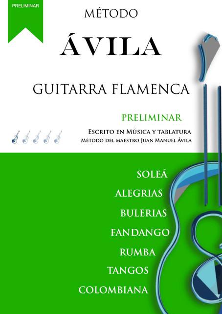 MÉTODO ÁVILA  GUITARRA FLAMENCA