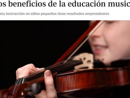 Los beneficios de la educación musical