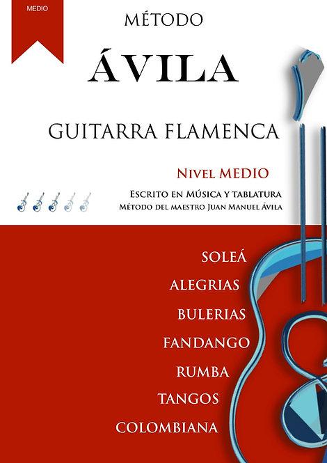 MÉTODO ÁVILA NIVEL MEDIO DE GUITARRA FLAMENCA