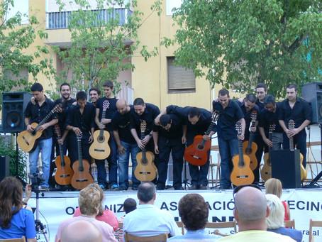 Más de 15 años dedicado a alumnos de guitarra de todo el mundo