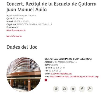 CONCIERTO DE ALUMNOS DE LA ESCUELA DE GUITARRA FLAMENCA JUAN MANUEL ÁVILA
