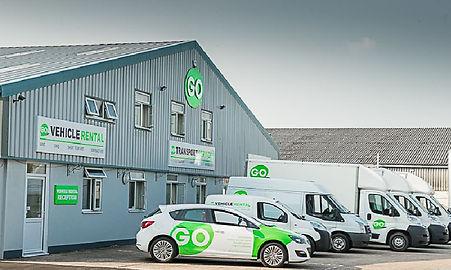 GO vehicle rental fleet in Cheltenham