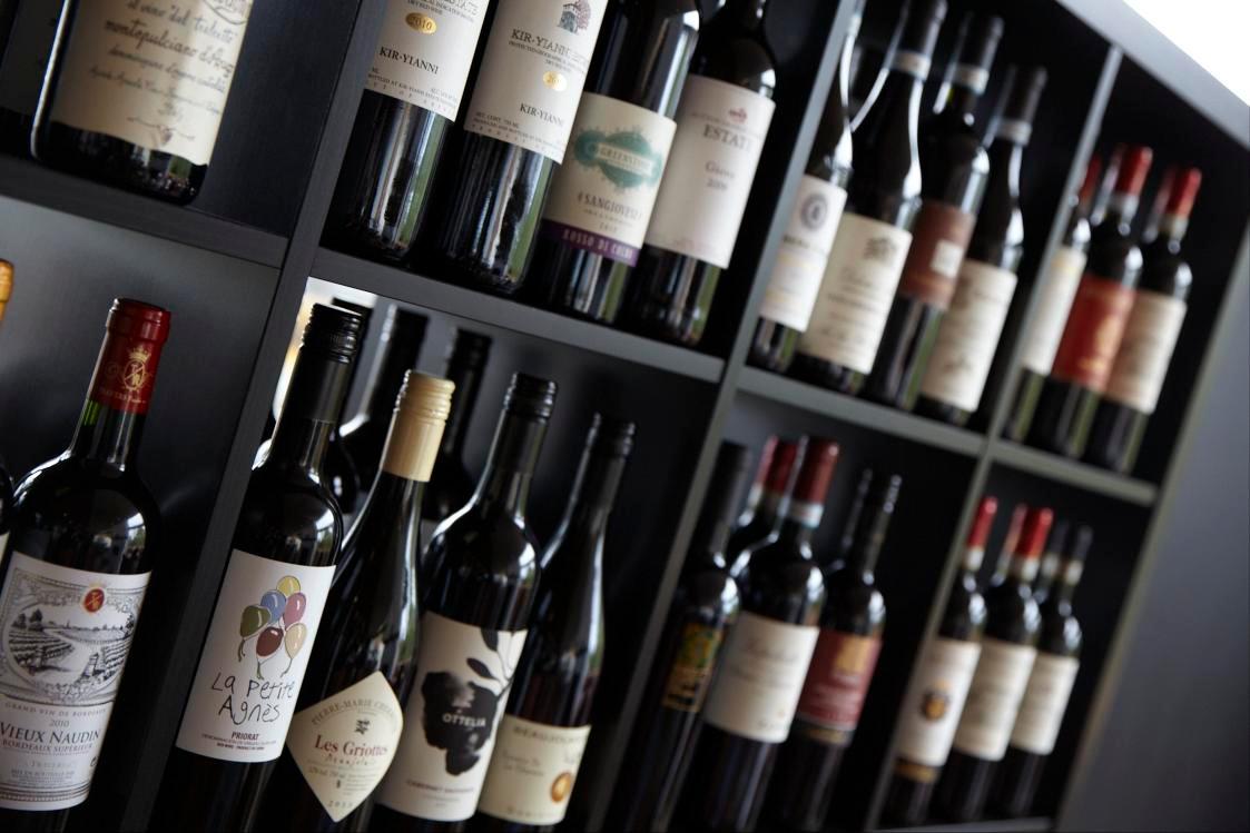 award winning wine selection