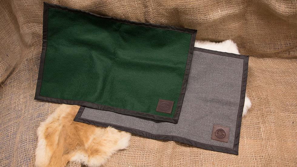 Wax Canvas &Wool Seat Pad