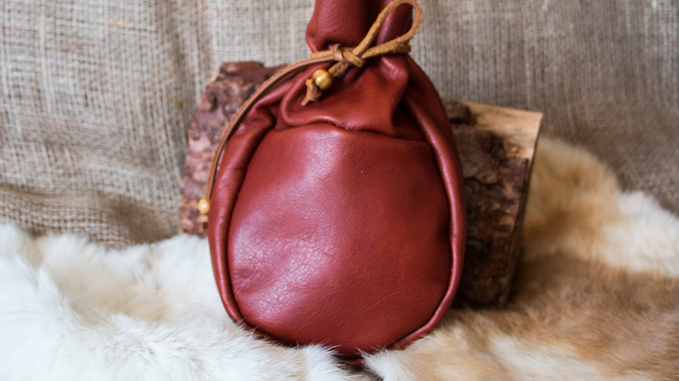 Sami Coffee Pouch Leather