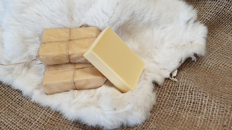 Canvas and Leather Balm Block
