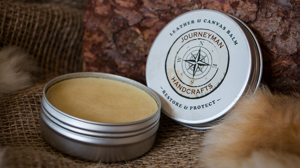 Leather and Canvas Balm