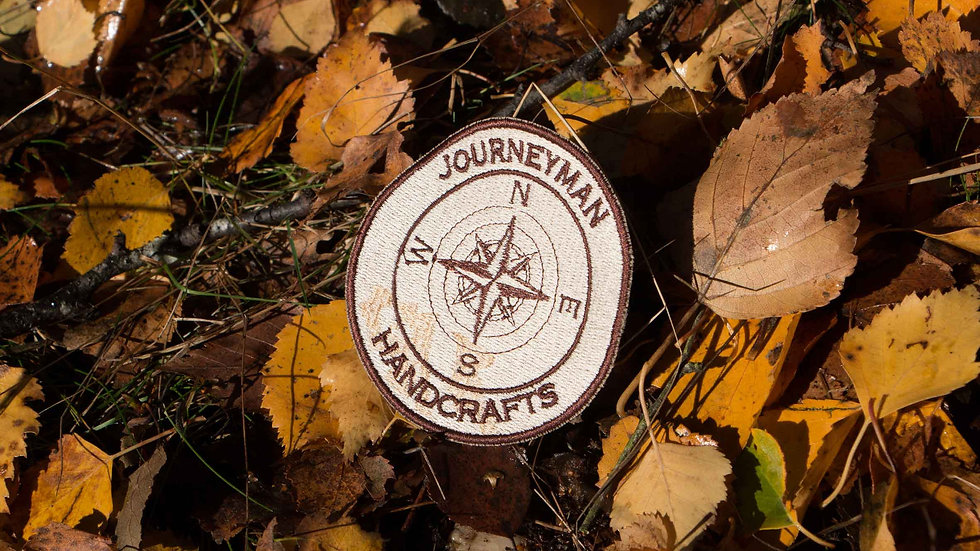 Journeyman Compass Embroidered Patch