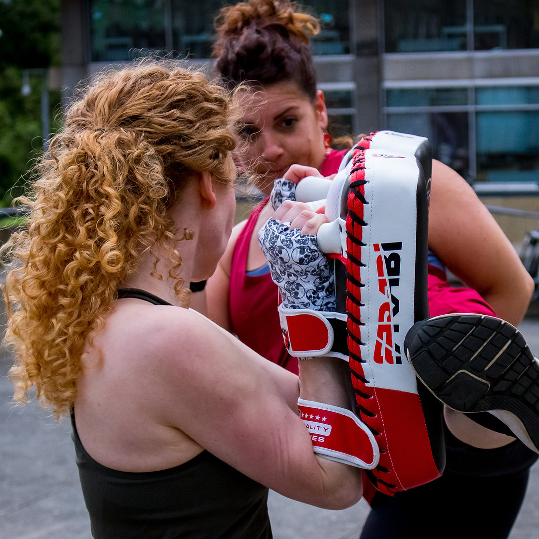 You will learn pad holding skills to work with and support your partner!