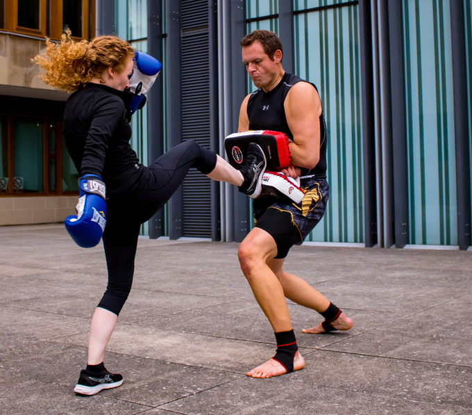 Develop strength through a variety of combat fitness and martial art drills!