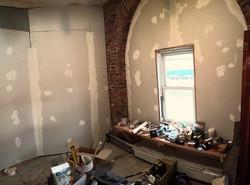 Sheetrock and Brickwork