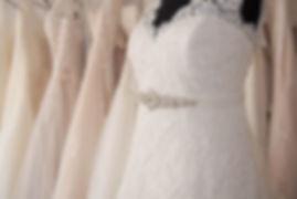 Wedding dress by Just curves bridal