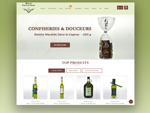ONLINE STORE FOR TOP NOTCH OLIVE OIL PRODUCER