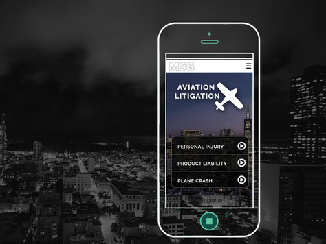 Web / Mobile Design for Law firm
