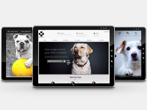 TEMPLATE DESIGN FOR VET CLINICS