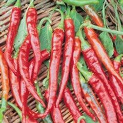 Pepper, Cayenne Long Red 2 pk
