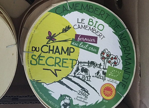 Camembert Champ Secret FERMIER et BIO