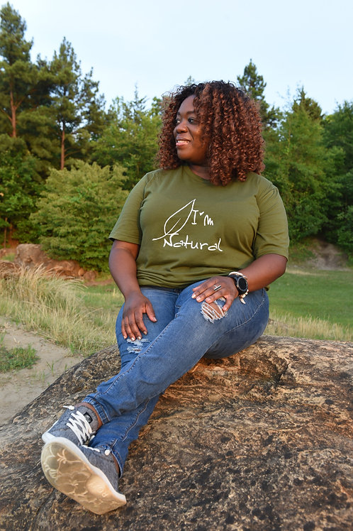 I'm Natural Graphic Tee