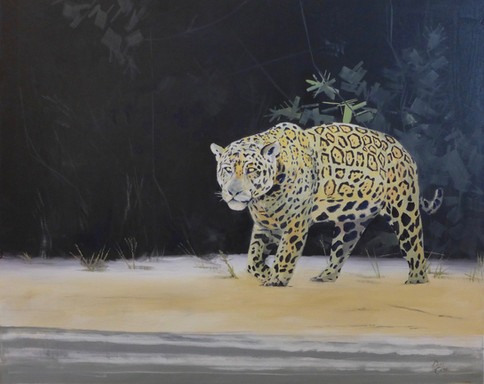 Hunting - Oil 76 x 60 - £295