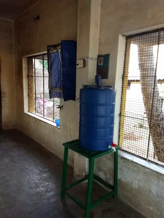 Water purifier installed10-2018
