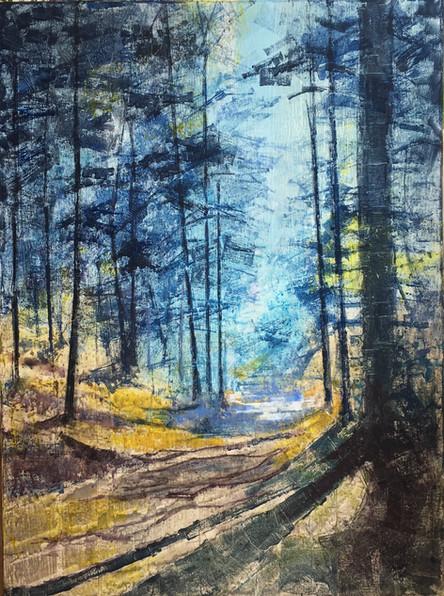 Morning path - 76 x 102 - Acrylic - Sold