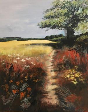 The Path acrylic - 60x70 - £365
