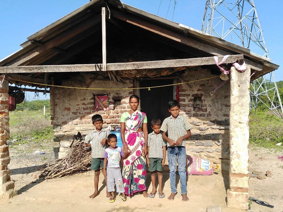 Local poor family we are helping 2019