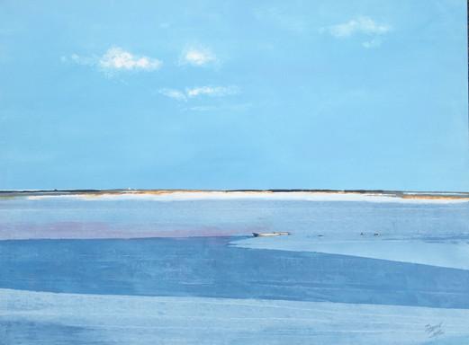 Calm - acrylic - 102 x 76 - £445