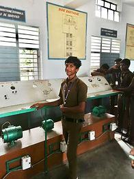 Ragu our apprentice electrician