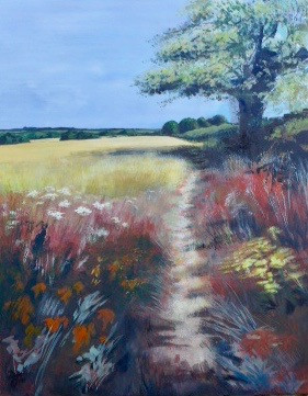 The Path - acrylic - 60 x 76 - £385