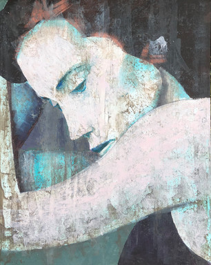 Valentina - Acrylic 40 x 70 Sold