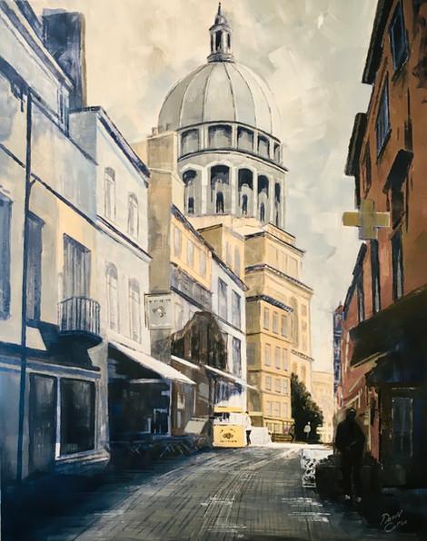 Boulogne - acrylic - 60 x 76 - £345