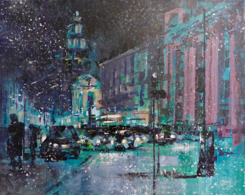 Christmas in London - Sold