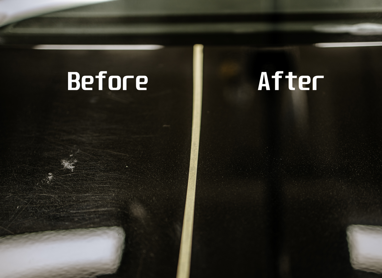Polish and Ceramic Coating Mercedes C300