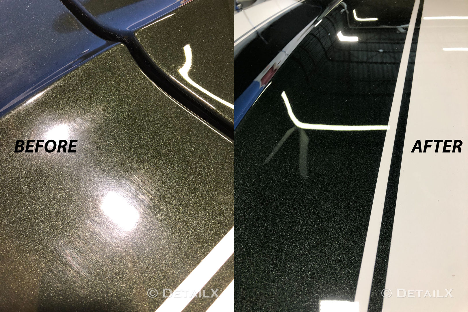 Classic Car Paint Correction and Seal