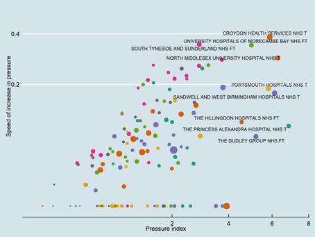 The hospitals facing most pressure to meet coronavirus demand