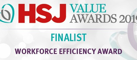 Press Release: Space Finder shortlisted for HSJ workforce efficiency award
