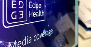 Press coverage of Edge Health's work on air passenger testing