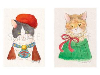 イラストイベント『あなたの猫さんをキャラクターにします』@ギャラリー来舎 2021年4/3(土)