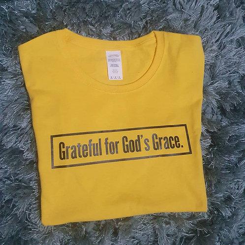 Grateful for God's Grace Tee (unisex)