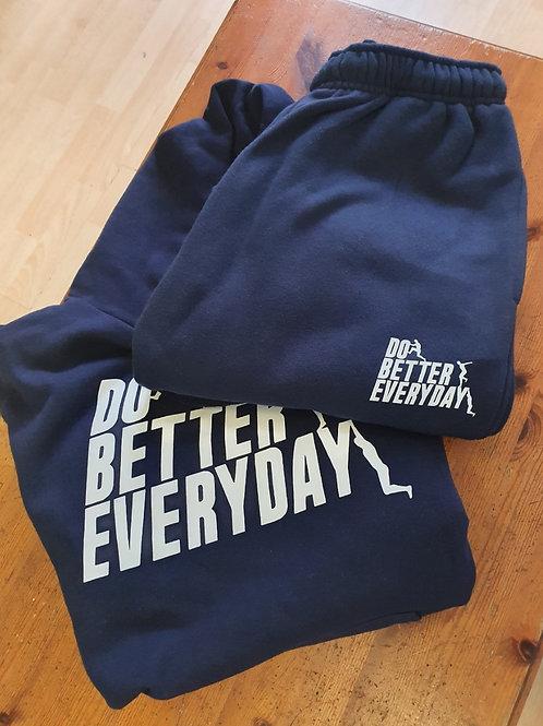 Navy Blue Do Better Everyday tracksuit set