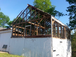 Wagon House Deconstruction 1